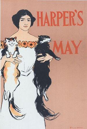 Edward Penfield- Harper's Magazine May 1897