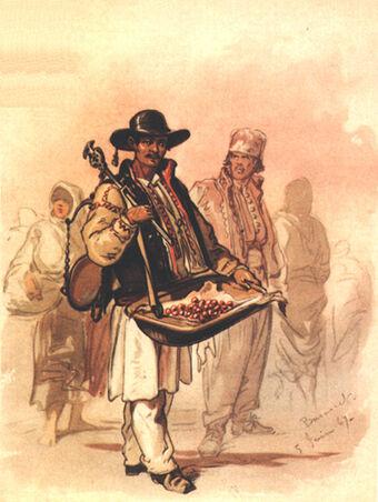 Preziosi - Cherry peddler, 1869