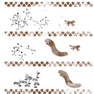 Decals cave paintings