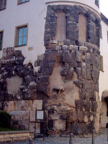 File:Remains of East Tower of Porta Praetoria.jpg