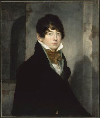 Self portrait of Washington Allston, 1805