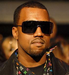 Kanye West plus sunglasses