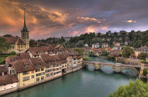 Bern-switzerland-river