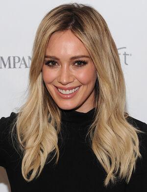 Hilary Duff smile