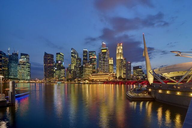 File:Skyline of Central Business District from the Esplanade.jpg