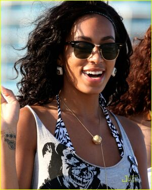Solange Knowles in Miami