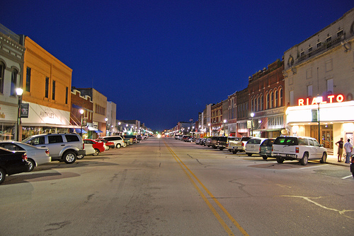Main Street in Denison