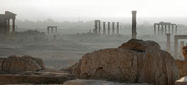 File:Early morning mist in Palmyra.jpg
