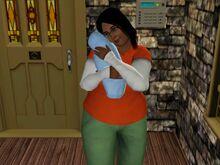 Eshana Lewis And Baby