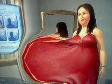 Bella Goth Big Fat Belly-2