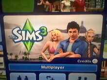 Wii The Sims 3-1