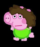 Phil Pig Green Shirt
