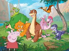 Peppa and The Land Before Time