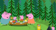 The pig family picnic