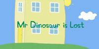 ¿Dónde está el señor Dinosaurio?