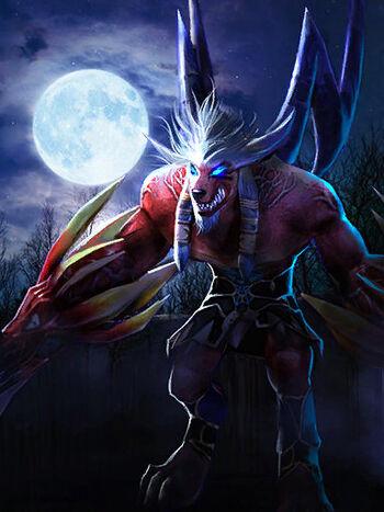 Suzerix, Adalwolf Elder War Avatar