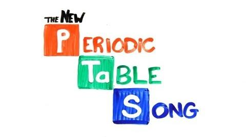 The NEW Periodic Table Song (In Order)-0