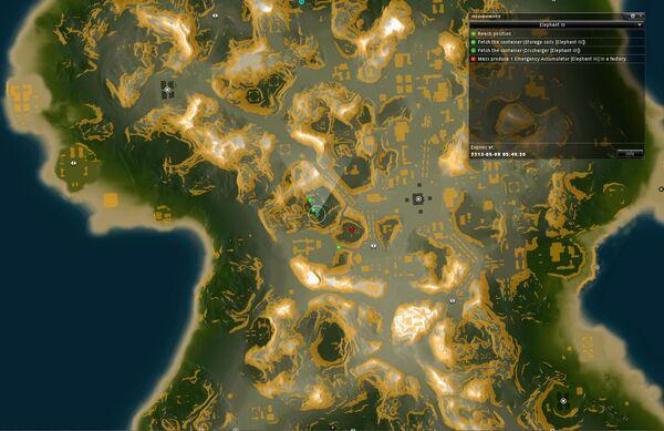 Elephant III Map