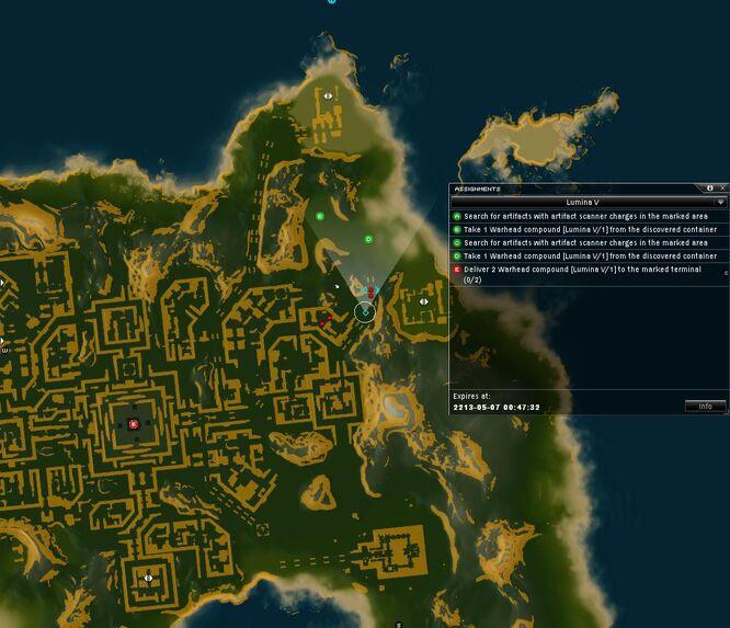 Lumina V Map