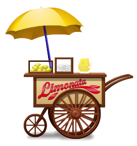 Lemonade vendor cart
