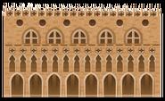 Classic Venetian Building Decal 2