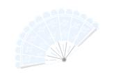File:White handheld fan.png