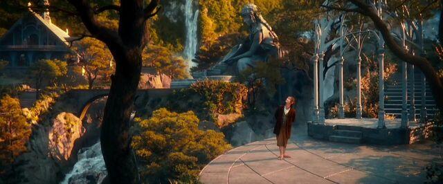 File:Bilbo walking through Rivendell.jpg