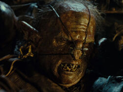 Phil Grieve as Isengard Orc