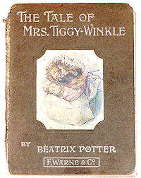 File:200px-The Tale of Mrs Tiggy-Winkle first edition cover.jpg