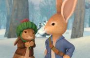 Peter-And-Benjamin-In-The-Winter-Wood
