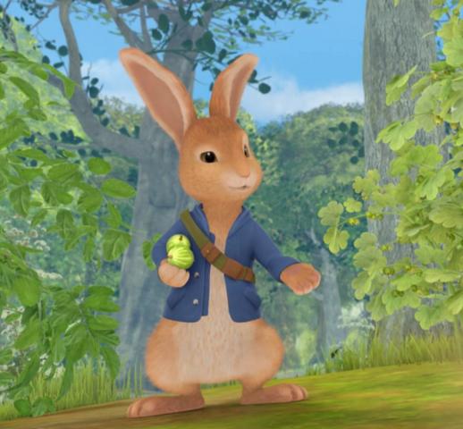 File:Peter Rabbit Happy.png