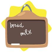 Simple kitchen chalkboard