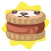 Tawny petling biscuit