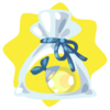 Glass lantern tree seed