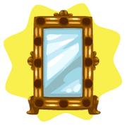 Hideeni mirror display case