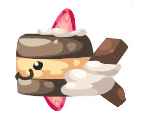 Chocolate Spongecakefish