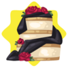 Opera house wedding cake