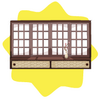 Mount fuji scrolling window