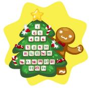 Holiday tree countdown