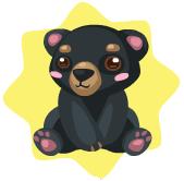 Wwf spectacled bear plushie