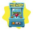 Racer arcade game