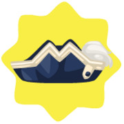 Sea admiral hat