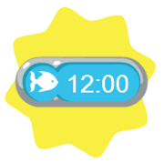 Playfish clock