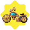Brass motorcycle