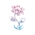 Radiant Crystal Flower