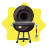 Charcoal BBQ Grill