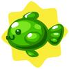 Green gummifish