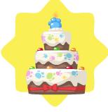 Pet Birthday Cake