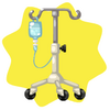 Hospital intravenous drip