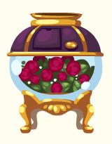 Rose petals confetti machine